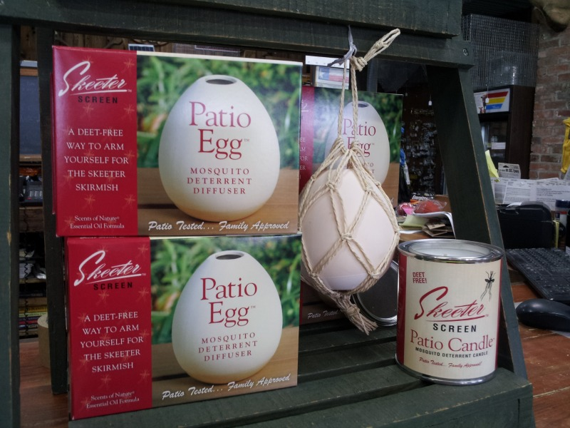 Marvelous New Product : Skeeter Screen Patio Egg