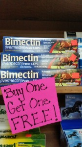 bimectin fiotw mar 2 e1424980324241 168x300 March 2 : Featured Item of the Week : Bimectin Paste