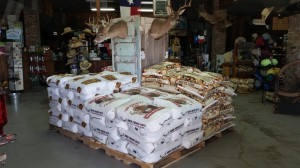 deer corn display 2015 2 300x168 Get Ready for Deer Season at Fleming Farm and Ranch