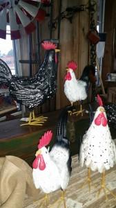 Dec. 14 : Ornamental Chickens rustic decor