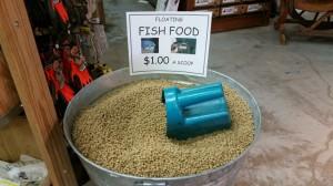 April 11 : Floating Catfish Food