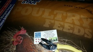 summer savings punch card poultry feed