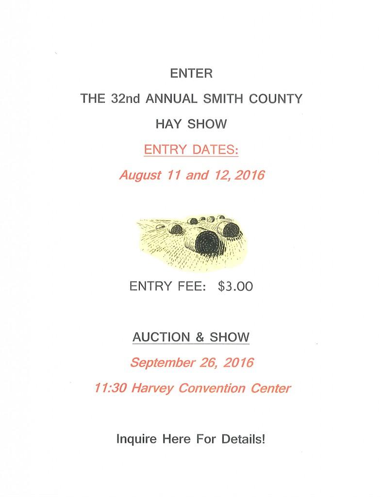 smith county hay show 2016