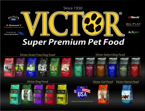 Victor Line Up 300x230 Now Available : Victor Dog Food