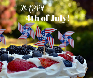 Happy 4th of July2 300x251 July 4   Closed