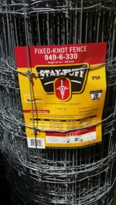 fixed knot fencing stay tuff